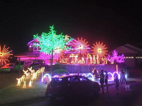 christmas lights in the hills hills district mums