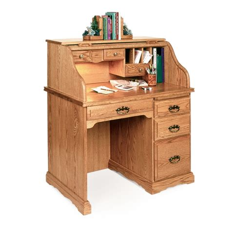 Best Small Desk Small 40 Quot Roll Top Desk Amish Made Small 40 Quot Roll Top Desk Country Furniture