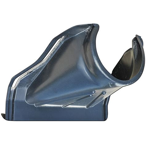 plastic flared  section