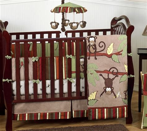 Monkey Crib Bedding Sets For Boys Monkey Baby Bedding 9pc Boys Crib Set Only 189 99