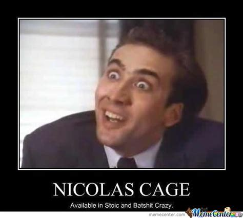 Nick Cage Meme - nicolas cage by l1ght meme center