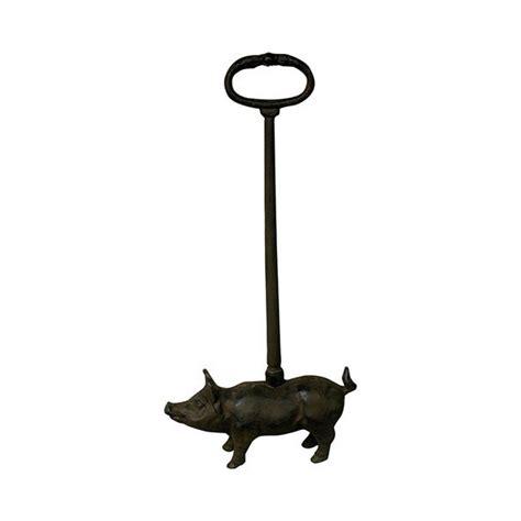 cast iron pig door stop from lilyben uk