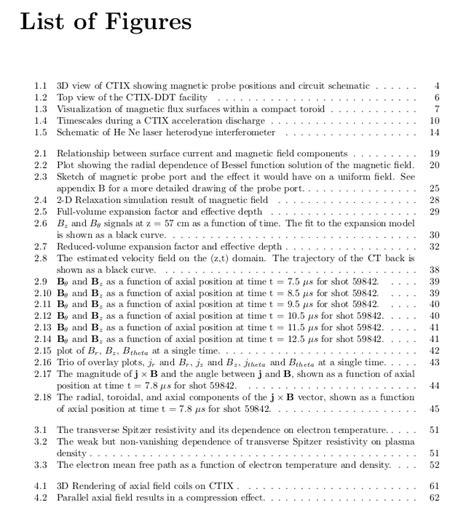 list of dissertation topics plasma physics free thesis sles and exles