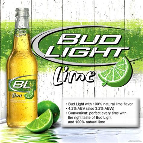 How Many Calories And Carbs In Bud Light Lime