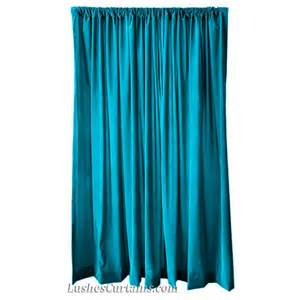 Turquoise Drapery Panels Turquoise Velvet 120 Inch Curtain Panels Wide Beautiful