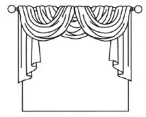 curtain drawing coloring pages common forms of curtain arrangements dot com women
