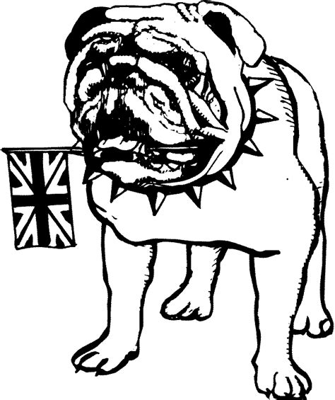 bulldogs coloring page bulldog coloring page coloring home