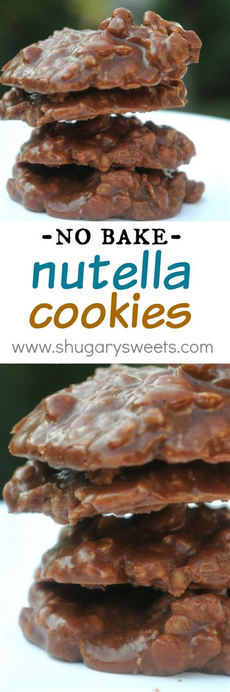 easy recipes for kids nutella cookies and nutella on