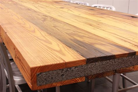 reclaimed wood countertops j aaron