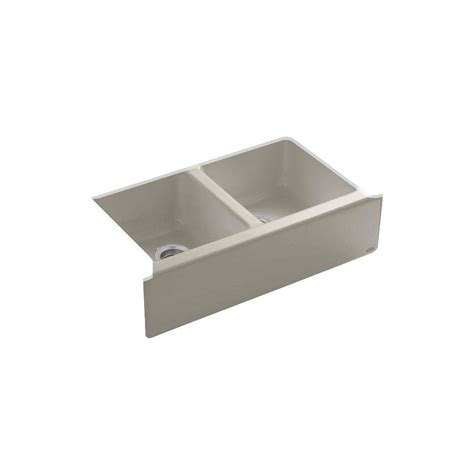 kohler farm sink 33 kohler hawthorne undermount farmhouse apron front cast