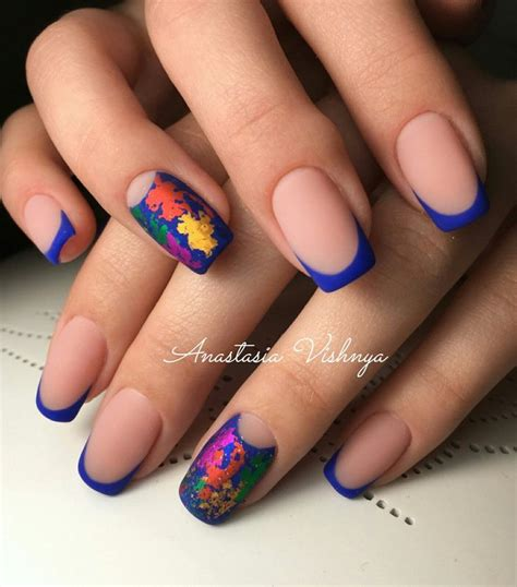 easy nail art bright colors 25 best ideas about bright blue nails on pinterest