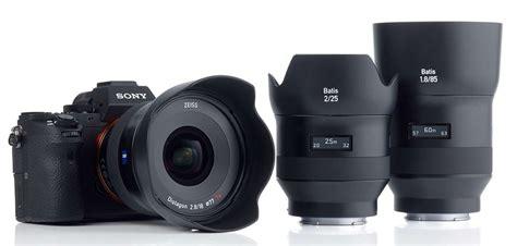 Lensa Sony Zeiss zeiss batis 18mm lensa lebar untuk sony a7 mirrorless