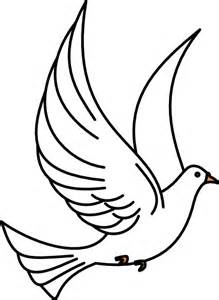 Holy Spirit Dove Outline by Flying Dove Clip Free Vector In Open Office Drawing Svg Svg Vector Illustration Graphic
