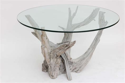 large driftwood center or dining table at 1stdibs