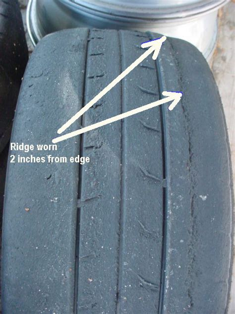 tire wear patterns help diagnose race tire wear pattern pelican parts