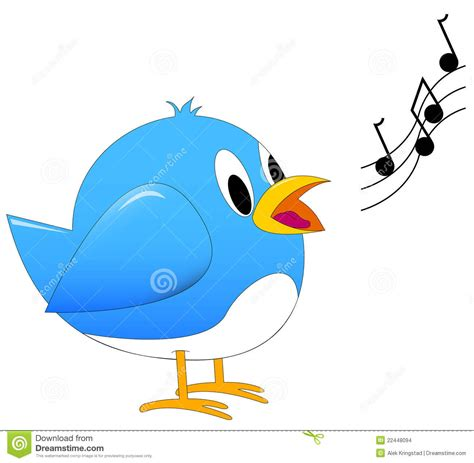 song clipart bird singing pencil and in color song