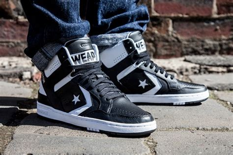 converse cons weapon mid black white