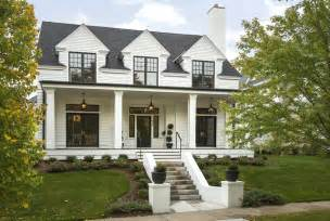 modern colonial modern colonial four square transitional exterior