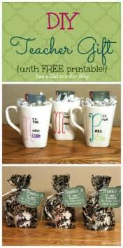 diy free diy teacher gift with free printable