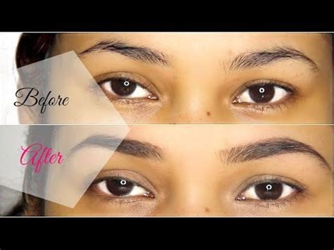 how to shape and wax your eyebrows at home misslizheart