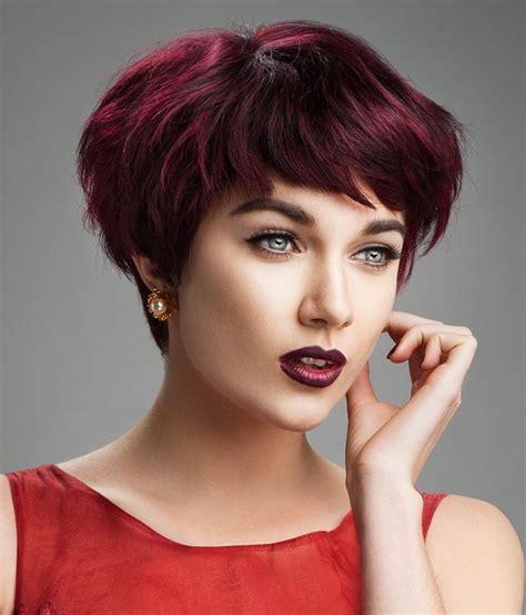 cortes pelo corto flequillo la moda en tu cabello pelo corto con flequillo ladeado 2017