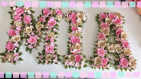 letras decoradas a letras decoradas con porcelana fria youtube