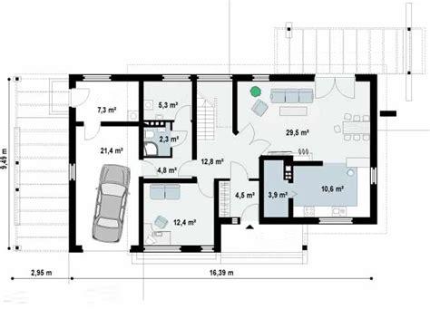 hermoso  disenos de casas de una planta #1: Plano-de-casa-moderna-de-2-plantas-con-3-dormitorios-y-terraza-2.jpg