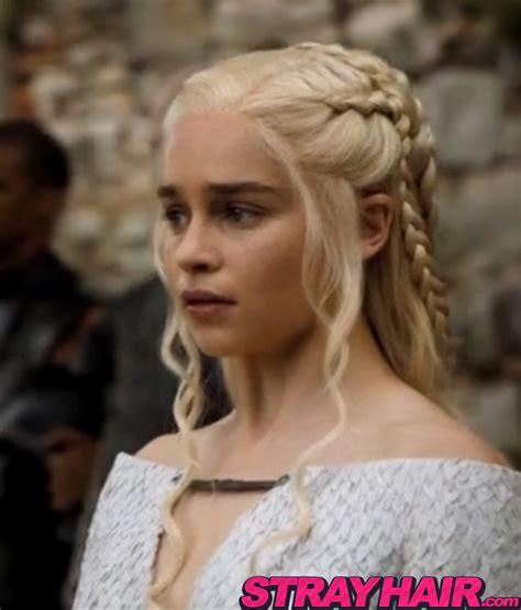 daenerys hairstyle daenerys targaryen game of thrones season 5 hairstyles