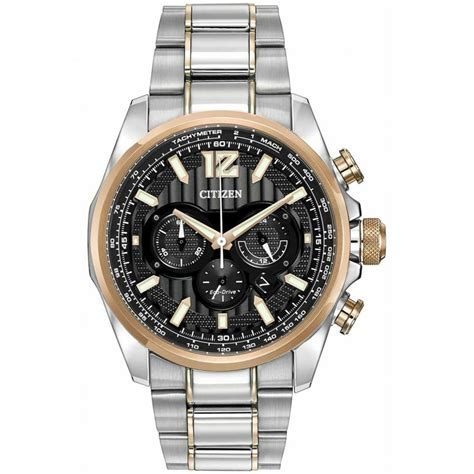 citizen s shadowhawk steel gold eco drive