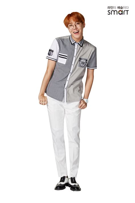 bts x smart picture bts x smart school uniform 170320 j hope 제이