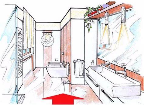 disegno di un bagno progettare un bagno