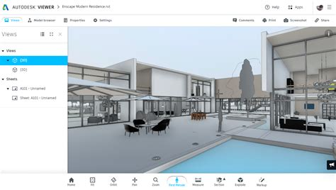 autodesk viewer   revit project revthat