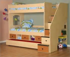 Bunk Bed With Storage Berg Utica Storage Bunk Bed