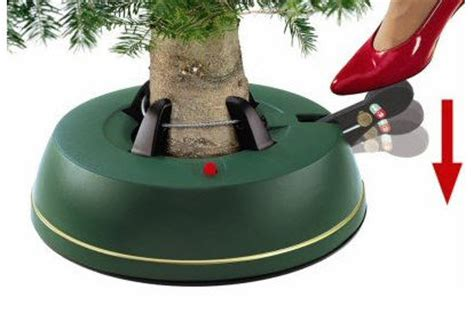the best christmas tree stand ever in the whole world
