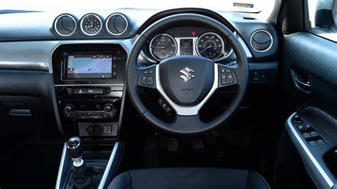 suzuki interior suzuki vitara suv interior dashboard satnav carbuyer