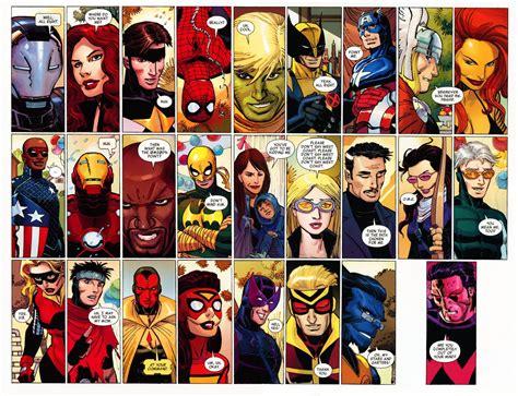 list of marvel