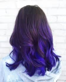 best 25 blue purple hair ideas on