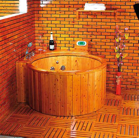vasca da bagno legno vasca idromassaggio in legno tinozza vasca da bagno