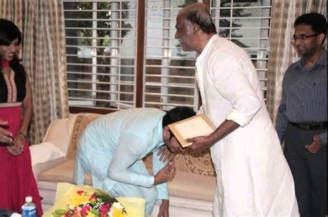 actor raja and his wife superstar rajanikanth blessed telugu actor raja and his