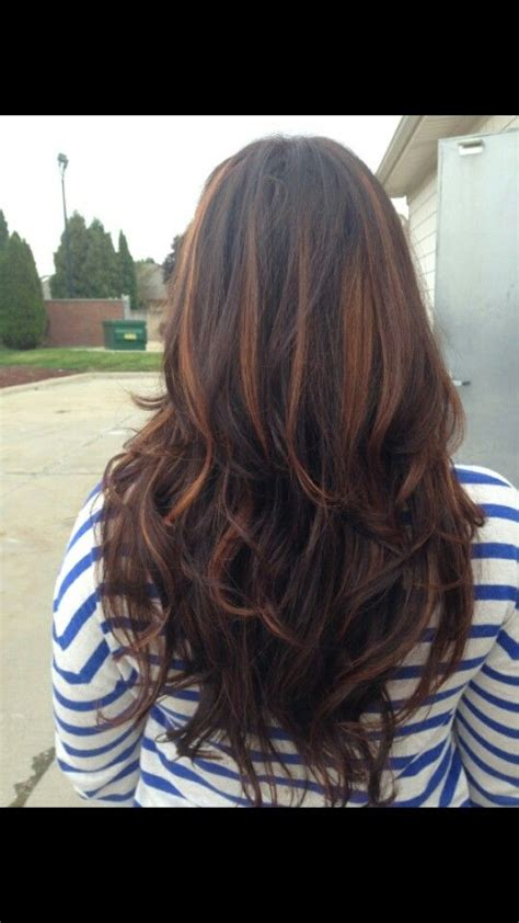 pictures of chestnut brown hair color with highlights and lowlights on african american hair 17 best ideas about chestnut highlights on pinterest