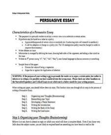 Tips For Writing A Persuasive Essay by 29 Exles Of College Essays