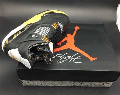 Air 4 Wings air 4 retro wings black gold for sale newest yeezy