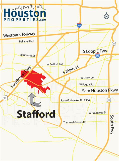 stafford texas map stafford tx real estate guide stafford homes for sale