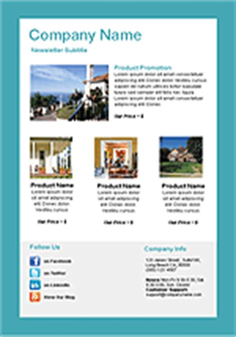Real Estate Email Templates Benchmark Property Management Newsletter Templates