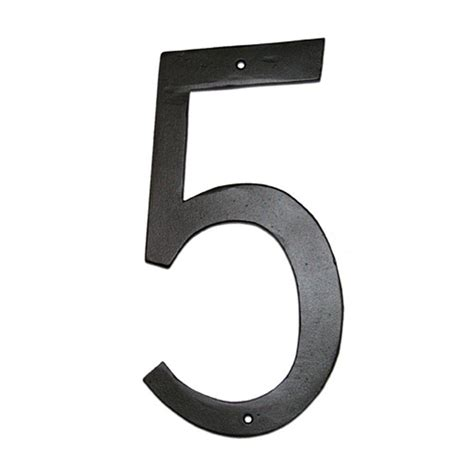 montague metal products 6 in standard house number 5 cshn