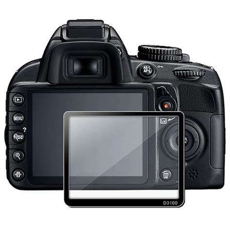 Lcd Nikon D3100 best price with eforcity pro lcd screen glass protector