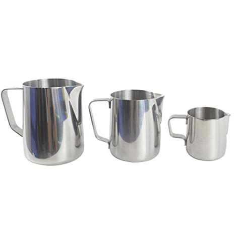 Milk Pitcher Spout 450cc dianoo milk pitcher stainless steel milk cup grip frothing pitcher coffee pitcher