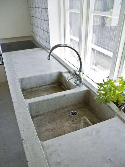concrete kitchen sink concrete kitchen my paradissi