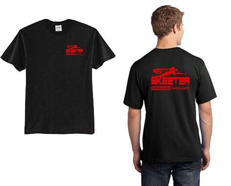 skeeter boats clothing skeeter boats black t shirt with red ink ebay