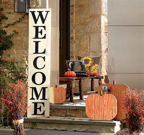 home decorating ideas for fall front porch decorating ideas for fall